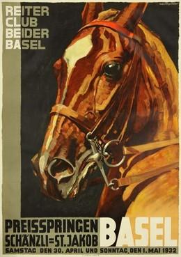 Reiter Club beider Basel – Preisspringen BASEL, Iwan Edwin Hugentobler