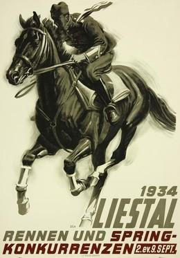 LIESTAL – Rennen und Springkonkurrenzen, Iwan Edwin Hugentobler