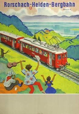 Rorschach-Heiden-Bergbahn, Hugo Laubi