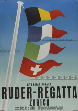 Ruder-Regatta Zürich, Artist unknown