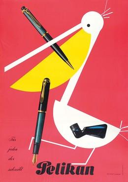 Pelikan – Für jeden der schreibt, Herbert Leupin