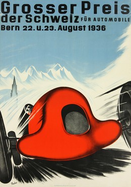 Grosser Preis der Schweiz für Automobile Bern 1936, Hans Thöni