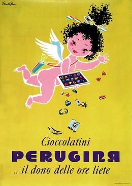Ciocolatini PERUGINA… il dono delle ore liete, Donald Brun