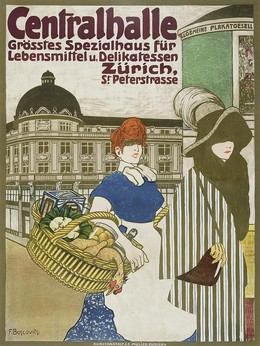 Central Hall – Food and delicatessen – Zurich, Fritz jun. Boscovits