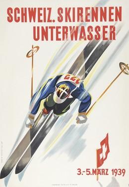 Schweiz. Skirennen Unterwasser, Martin Peikert