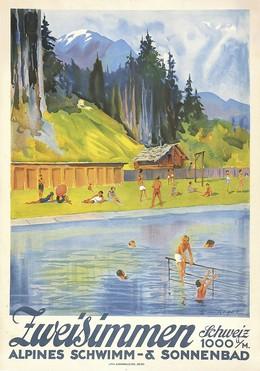 Public Swimming Pool of Zweisimmen, Erica von Kager