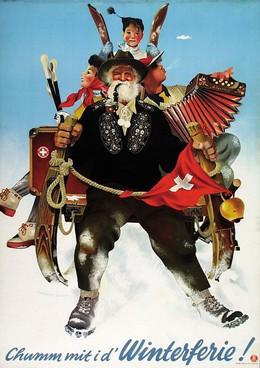 Join us for Swiss winter holidays !, Herbert Leupin