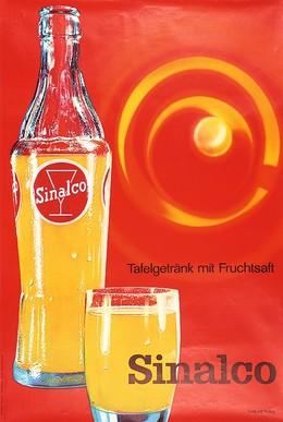 Sinalco Tafelgetränk mit Fruchtsaft, Alfons Ruckstuhl