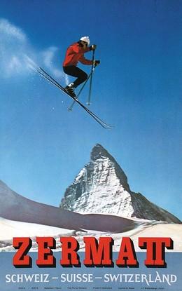 Zermatt – Schweiz – Suisse – Switzerland, Alfred Perren-Barberini