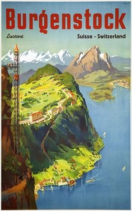 Bürgenstock Lucerne Suisse Switzerland, Otto Ernst