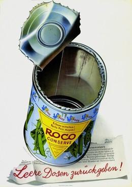 Roco Peas – Return your empty cans, Herbert Leupin