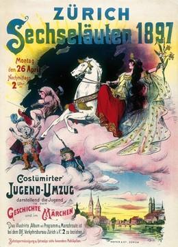 Zürcher Sechseläuten 1897, Fritz jun. Boscovits