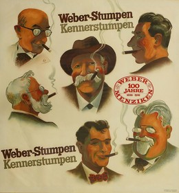 Weber-Stumpen – Kennerstumpen, Laubi, Hugo (Behrmann / Bosshard)