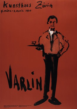 Kunsthaus Zürich – VARLIN, Varlin (Guggenheim, Willy, 1900-1977)