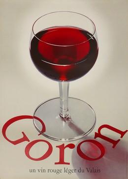 Goron – un vin rouge léger du Valais, Alfons Ruckstuhl