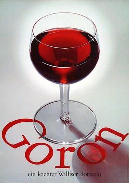 Goron – ein leichter Walliser Rotwein, Alfons Ruckstuhl