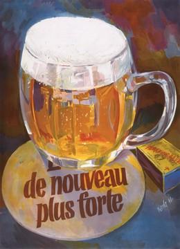 de nouveau plus forte (bière), Alfred Koella