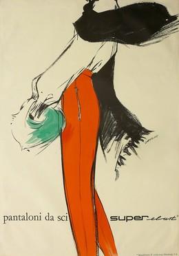 pantaloni da sci – super-elast
