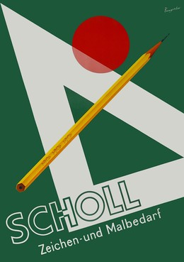 Scholl art supplies, Rolf Bangerter
