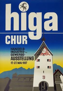 Higa Chur Handels-, Industrie- und Gewerbe-Ausstellung, Eberli, 20., Jh. CH