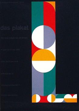 das plakat – 400 neue Plakate aus 25 Ländern, Gottfried Honegger