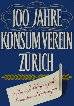 100 Jahre Konsumverein Zürich, Hans Aeschbach