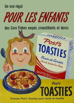 Post's TOASTIES Corn Flakes pour les enfants, Max Dalang