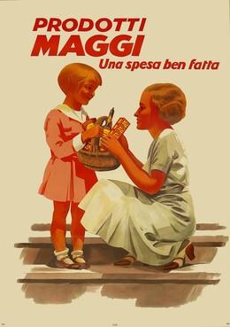 Prodotti Maggi – una spesa ben fatta, Artist unknown