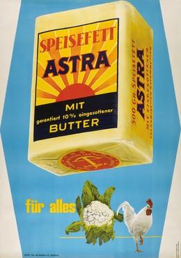 Astra Speisefett, Werner Allenbach