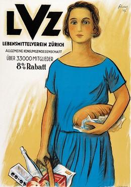 LVZ – Lebensmittelverein Zürich, Carl Scherer