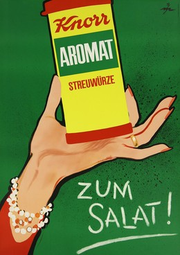 Knorr Aromat zum Salat, René Mühlemann