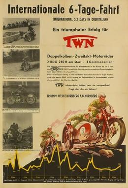 Internationale 6-Tage-Fahrt – Triumph-Werke Nürnberg, R. Behringer