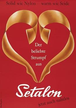 Der beliebte Strumpf aus Setalon – jetzt auch nahtlos, Rolf Bangerter