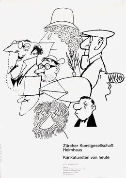 Helmhaus Zürich – Karikaturisten von heute, Hans P. Schaad