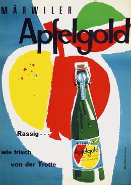 Märwiler Apfelgold – rassig wie frisch von der Trotte, Artist unknown