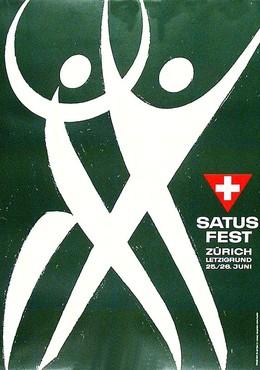 Satus-Fest Zürich Letzigrund 1965, Alfred Hablützel