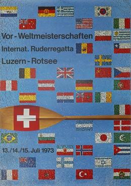 Vor-Weltmeisterschaften Int. Ruderregatta Luzern-Rotsee, Oscar Weiss