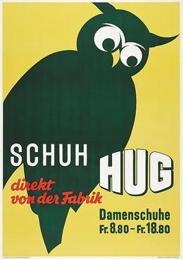 Schuh Hug direkt von der Fabrik, Hermann Behrmann