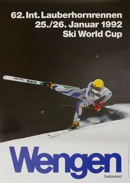Wengen – 62. Int. Lauberhornrennen 1992, Ueli Marti