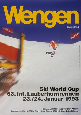 Ski World Cup Wengen 1993, Ueli Marti