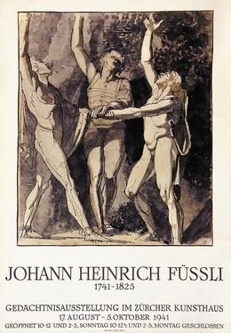 Johann Heinrich Füssli – Gedächtnisausstellung im Zürcher Kunsthaus, Artist unknown