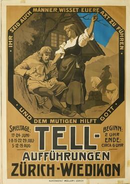 TELL-Aufführungen Zürich-Wiedikon, Isler