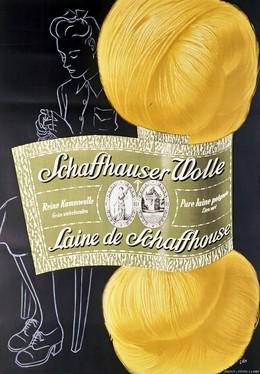 Schaffhauser Wolle – Laine de Schaffhouse, Herbert Berthold Libiszewski