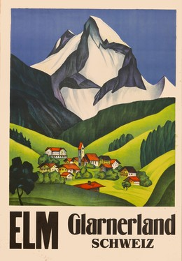 ELM – Glarnerland – Schweiz, Artist unknown