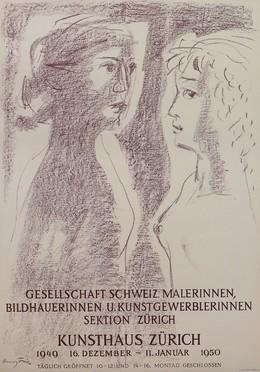 Gesellschaft Schweiz. Malerinnen, Bildhauerinnen und Kunstgewerblerinnen Sektion Zürich – Kunsthaus Zürich, Hanny Fries