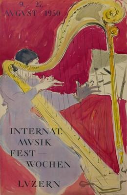 Internat. Musik Festwochen Luzern 1950, Hans Falk