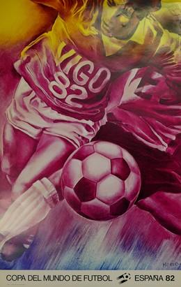 Copa del Mundo de Futbol – España 82 – Vigo, Jacques Monory