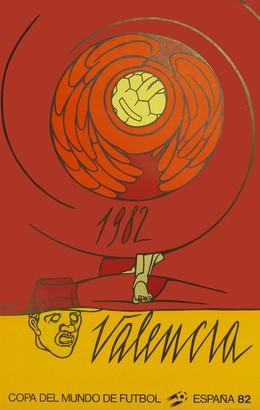 Copa del Mundo de Futbol – España 82 – Valencia, Valerio Adami