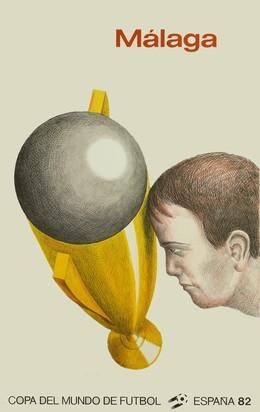 Copa del Mundo de Futbol – España 82 – Málaga, Roland Topor