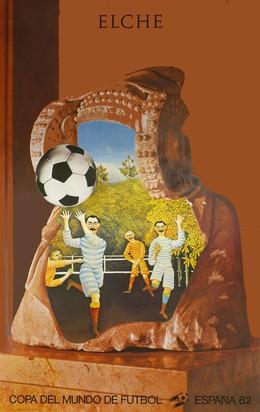 Copa del Mundo de Futbol – España 82 – Elche, Jiri Kolar